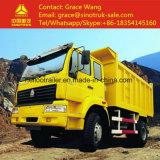 4*2 HOWO 6은 5 톤 판매를 위한 작은 덤프 트럭을 선회한다