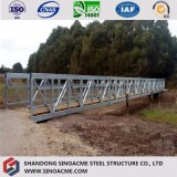 Larga vida montado rápida certificada ce el bastidor de puente de acero pesado