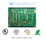 Placa PCB do FR4 para as peças do computador com a norma UL ISO