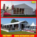 Tente large transparente de mariage d'usager du mur 10m pour l'événement extérieur