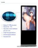 Affissione a cristalli liquidi esterna diritta libera del contrassegno di 55 Digitahi di pollice che fa pubblicità alla visualizzazione
