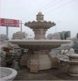 Stone di marmo Fountains con Statue per il giardino