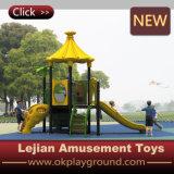 Parco di divertimenti di plastica della strumentazione del campo da giuoco del bambino del Ce (X1504-1)