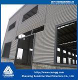 Полуфабрикат здание мастерской рамки стальной структуры
