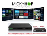 UHD Ipremium I9 4K IPTV в салоне Android 6.0 DVB-S2, T2/C ISDB-T потоковой передачи в салоне