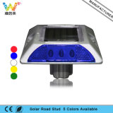Wasserdichter katzenauge-Straßen-Stift des Blau-LED blinkender Aluminiumsolar