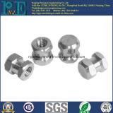 Изготовленный на заказ стальной подвергать механической обработке CNC сплава собирает части