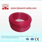 Único fio elétrico de cobre encalhado de construção