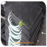 PE материал UHMWPE квадратных HDPE безопасности Outrigger тормозных колодок