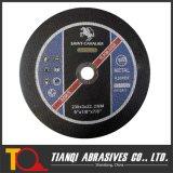 Vlakke Cut off Wheel voor Metal 230X3X22.2