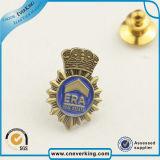 Logo personnalisé, format régulier Bouton d'étain d'un insigne