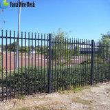 高品質によって電流を通される前部および庭の機密保護の鋼鉄に囲うこと