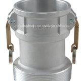 Accoppiamento di tubo flessibile di alluminio flessibile rapido del grande Camlock rapido di formati