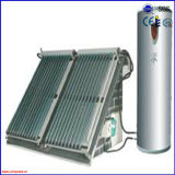 Chaufferette d'eau chaude solaire pressurisée par fractionnement populaire de caloduc