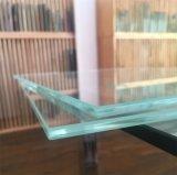 Китай прямоугольник полированной кромки очистить плавающие закаленное стекло книжной полке