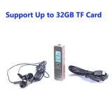 32GB TFのカードまでのMP3プレーヤーサポートが付いている最も安いデジタル音声のレコーダー