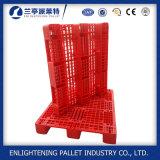 Palettes en plastique de crémaillère simple du côté 1200X1000 à vendre