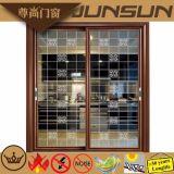 Foshan fois Huiye Usine de fabrication la pendaison porte en aluminium