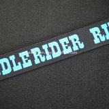 30mm de nylon spandex Jacquard elástico Logotipo personalizado