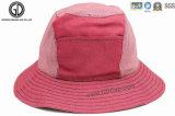 Sombrero de algodón de encargo del algodón del algodón lavado de la pesca del sombrero con el bolsillo