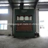 Máquina fría hidráulica de la prensa de la carpintería para hacer la fabricación del suelo de /Bamboo de la tarjeta del bloque de la madera contrachapada