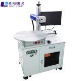 Professional láser de fibra corte de metal plateado de marcado de la máquina