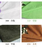 スエードの革カシミヤ織ファブリック無光沢のビロードの布