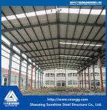 Edificio de acero de la estructura de acero del diseño ligero de la vertiente