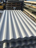 strato d'acciaio galvanizzato ondulato tuffato caldo del tetto di 0.125mm-0.6mm
