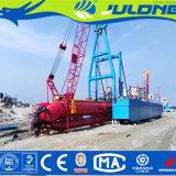 Jl-CSD350砂および再生利用作業のためのフルオートマチックのカッターの吸引の浚渫船