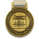 Formato in lega di zinco del Metal Old Marathon Medal Medal Sports Corporation