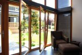 Puerta interna K06027 de la inclinación y de la vuelta del perfil de madera de aluminio de la alta calidad