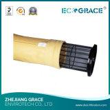 Polvere che rimuove i sacchetti filtro PPS/Nomex/PTFE/corpi filtranti della vetroresina