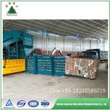 Haltbare hydraulische horizontale Altpapier-/Karton-/Pappballenpresse-Ballenpresse