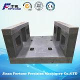 Cnc-Granit-Unterseite mit hoher Präzision