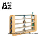 Estante de madeira / biblioteca de móveis (BZ-0155)