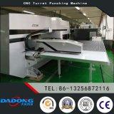 Uso eléctrico servo de la punzonadora de la torreta del CNC D-Es300 para el proceso del metal de hoja
