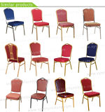 Chaise empilable Banquet d'acier de l'hôtel (XYM-G07)