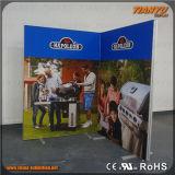 Fácil de bastidor de aluminio de publicidad textil