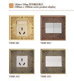 La norme BS en laiton avec les modèles de prise de courant murale
