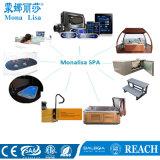Оптовая торговля Monalisa LED открытый большой купальный комплекс СПА бассейн (M-3370)