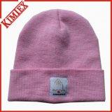 方法屋外の冬の帽子の帽子