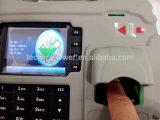S922 portátil resistente al agua el tiempo de huella dactilar Terminal de asistencia con GPRS