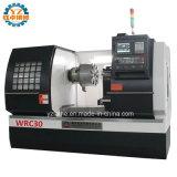 Wrc30 Coche de alta precisión de reparación de Llanta de aleación de Torno CNC