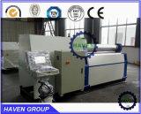 PLATTEN-Verbiegenund Walzen-Maschine der Rollen-W12S-40X3000 4 Stahl