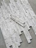 Revestimento de parede de mármore cinza da China, pedra de cultura fabricada Corber
