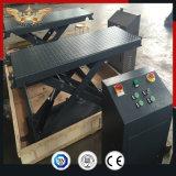 Склад 3500кг MINI Низкопрофильный электрический гидравлический подъемный стол ножничного типа