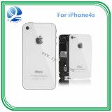 Rückseitiger Gehäuse-Batterie-Deckel für das Apple iPhone 4S Schwarzweiss