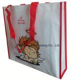 Изготовленный на заказ мешки PP печатание прокатанные BOPP Non сплетенные выдвиженческие для покупкы