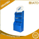 Vente au détail de présentoir de papier de présentoir d'étage de carton ondulé